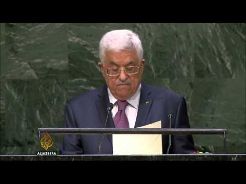 Abbas renews bid to end Israeli occupation