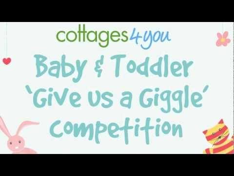 Baby giggle -   Give us a Giggle  competition
