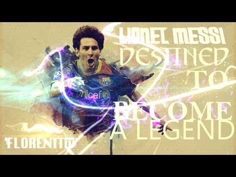 Lionel Messi - Destined To Become A Legend 1987-2013  HD
