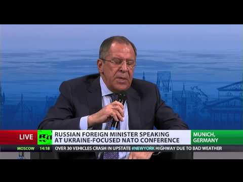 Lavrov: Russia set to promote peace process in Ukraine (FULL SPEECH MSC2015)