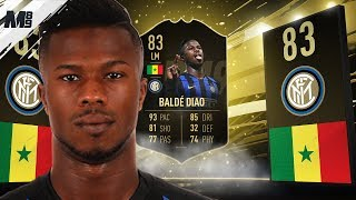 FIFA 19 IF KEITA BALDE REVIEW | 83 IF KEITA BALDE PLAYER REVIEW | FIFA 19 ULTIMATE TEAM