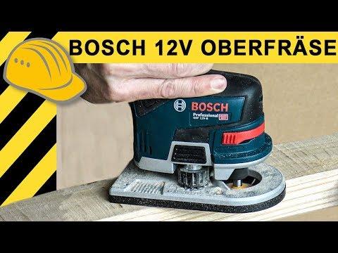 "Genial - 12V Akku OBERFRÃ""SE! Was kann die neue Bosch GKF 12V-8? TEST & Ausdauertest"