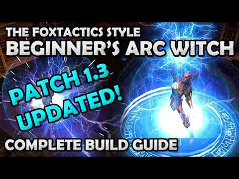 Poe Beginner Builds Witch