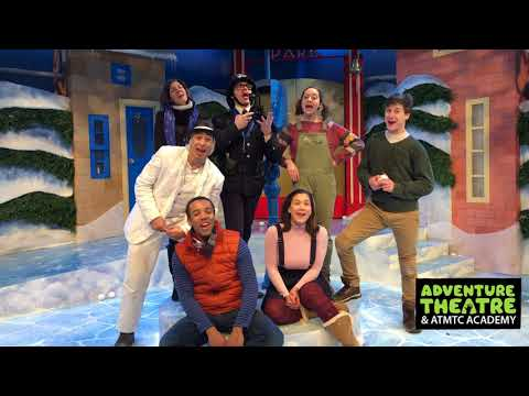 Happy Holidays from the cast of Frosty the Snow Man at Adventure Theatre MTC!