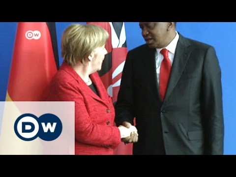 Kenyan President Kenyatta in Berlin   DW News