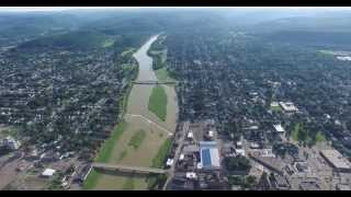 Summer Drone: Over and around Elmira, N.Y.
