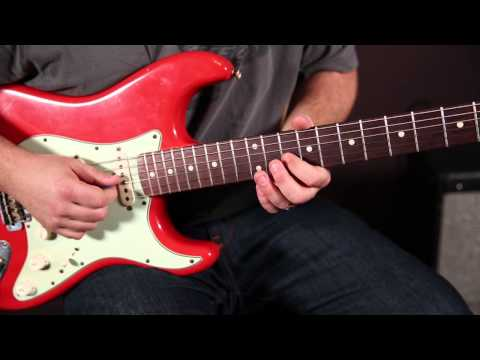 Blues Rock Licks Guitar Lesson - Fender Strat
