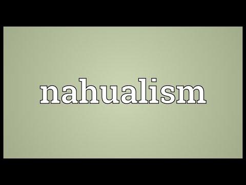 Header of nahualism