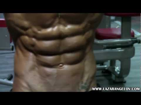 Lazar Angelov is too shredded for YouTube