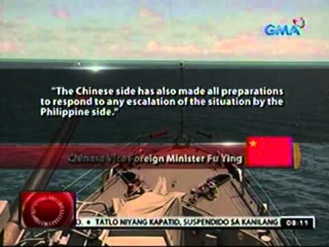 24oras: China, nagsagawa na ng drilling sa West Philippine Sea sa gitna ng tensyon