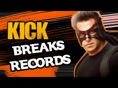 Salman Khan Kick | Breaks Box Office Records | Bollywood Movies 2014 | video