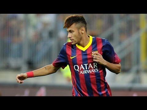 Neymar  los Mejores Regates Y Goles- Hey Brother- Avicii   2013 2014   Hd video