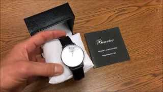 Bonvier Classic Silver Watch Review