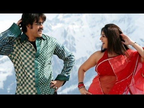 Boss Movie Songs - Anaganaganaga - Nagarjuna Nayantara