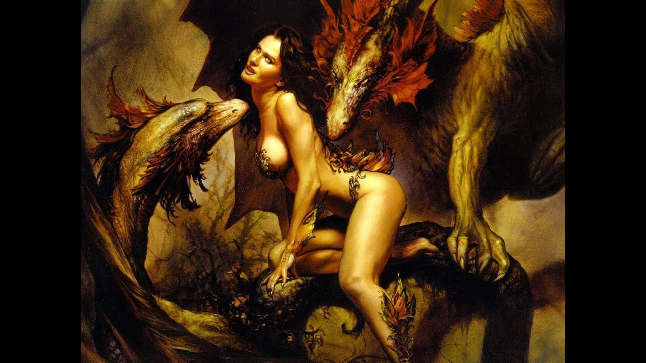 Nude demon woman nude woman