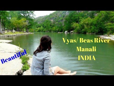 Vyas River in Manali   Beas River Kullu Manali   Rafting in Manali