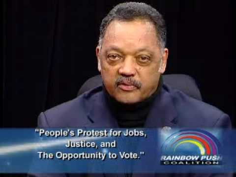 Rev. Jesse L. Jackson Sr. Joins Rallies for Jobs, Justice and Opportunity