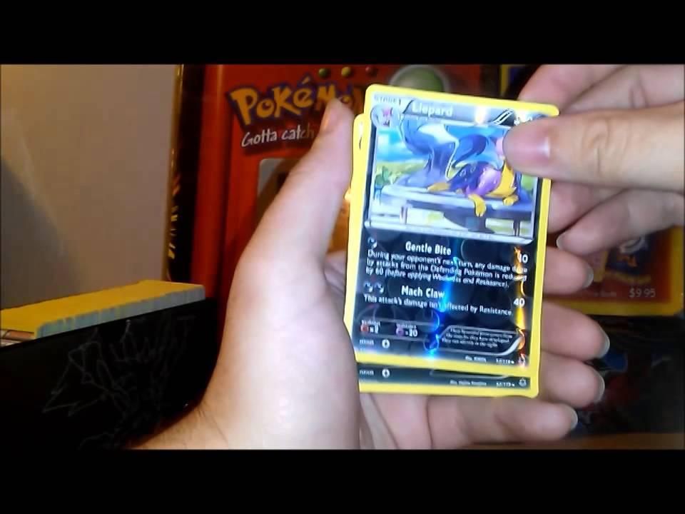 Pokemon elite trainer box opening phantom forces secret rare mega