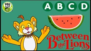 ♡ Between The Lions - ABCD Watermelon Letter Recognition Education Game For Children