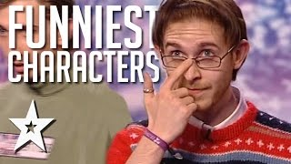 Funniest Characters Auditions Around The World On Got Talent