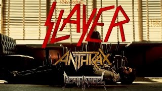 SLAYER, ANTHRAX and DEATH ANGEL 'MIGHTY TRIUMVIRATE 2016' North American Tour
