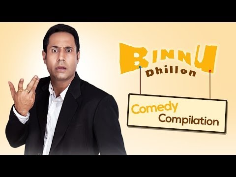 Best of Binnu Dhillon - Comedy compilation 2013-2014 | Punjabi...