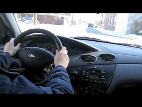 Test drive 2002 ford focus youtube for Ford focus 2006 interieur