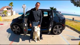 2017 BMW i3 BEV w/ Range Extender - 33 KWh / 94 Ah BIG BATTERY – FIRST DRIVE REVIEW (2 of 2)