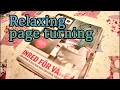 RELAXING PAGE TURNING | ASMR
