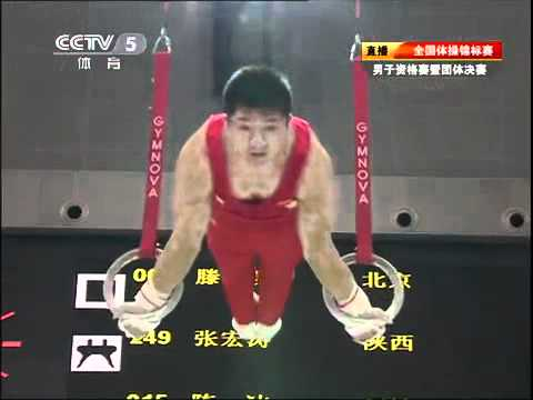 Chen Yibing ring chinese national 2011 qualification