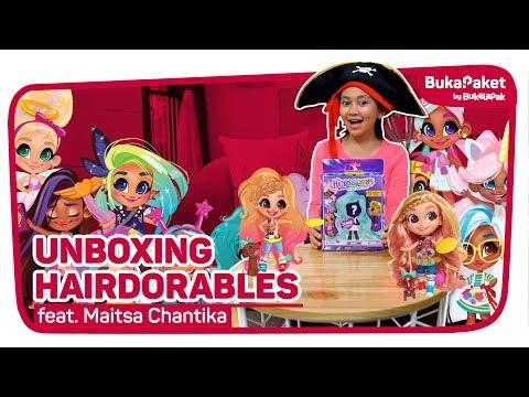 Berburu Dan Unboxing Boneka Hairdorable Feat. Maitsa Chantika | BukaPaket For Kids