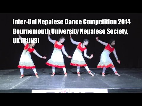 Inter-Uni Nepalese Dance Competition 2014 (Bournemouth University Nepalese Society, UK) BUNS