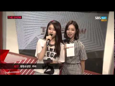140902 The Show T-ARA MC Jiyeon cut #3