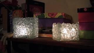 Luminária de cacos de vidro temperado - Lamps shards of tempered -Fixtures de vidrio templado roto
