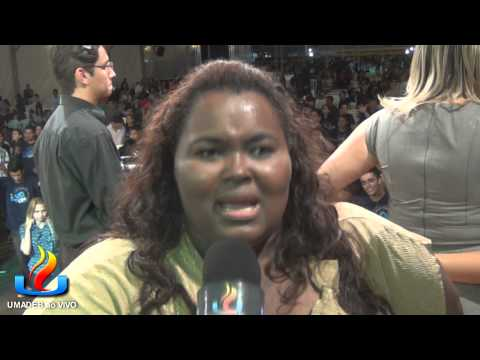 UMADEB 2013  Dia 11-02 - Entrevista cantora Fabiana Anastácio