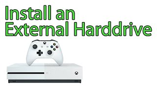 Xbox One: How to Install an External Hard Drive