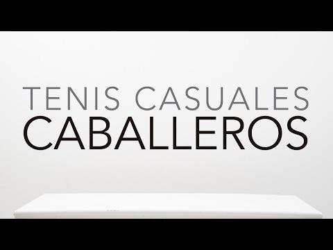 Tenis Casuales Caballeros 2017