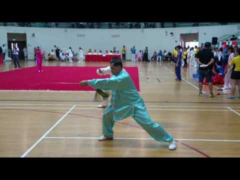 global finance group the 7th Singapore international martial arts tournament 2016 陈氏太极单剑