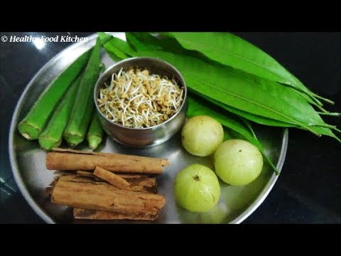 Home Remedies to control Diabetes-Natural Home remedies for Diabetes By Healthy Food Kitchen