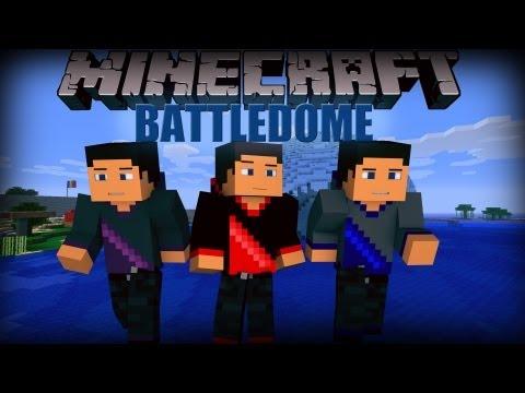 Minecraft: Battledome Minigame w/ SkyDoesMinecraft. JeromeASF. HuskyMudkipz. & Friends!