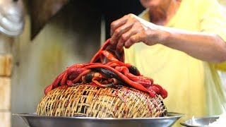 DANGEROUS noodles | ULTIMATE NOODLE tour in Tainan, Taiwan | Taiwanese street food tour |