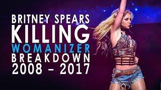 "Britney Killing the ""Womanizer"" Breakdown! (2008-2017)"