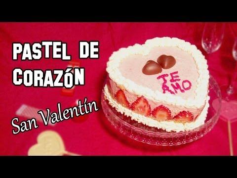 Recetas de Cocina | Como Hacer Pastel para San Valentín Sin Horno