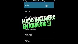 Modo Ingeniero en Android | ((MEDIATEK)) [ROOT & NO ROOT]