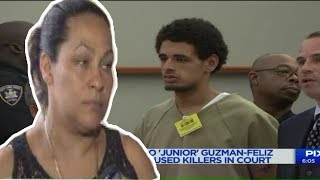 Leandra Feliz Come Face To Face With Juniors Killers In Court