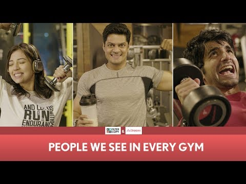 FilterCopy | People We See In Every Gym ft. Ayush, Barkha and Sudev thumbnail