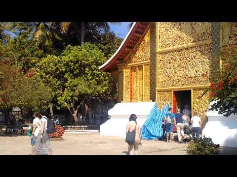 Temple in Luang Prabang Laos Travel Guide Review 2