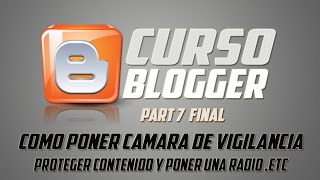 COMO CREAR UN BLOG ESTILO PAGINA WEB PART 7 FINAL