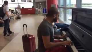 River Flows In You Prague Airport - Maan Hamadeh