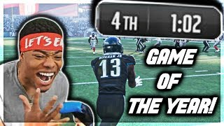 DOWN TO 1 MINUTE! GAME OF THE YEAR ⚡ God Squad #69 | Madden 18 Ultimate Team | Jmellflo
